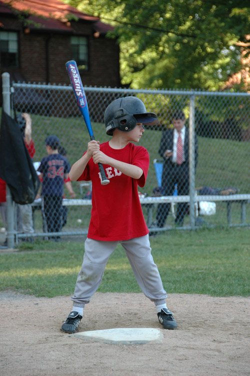 baseball player 7 years old