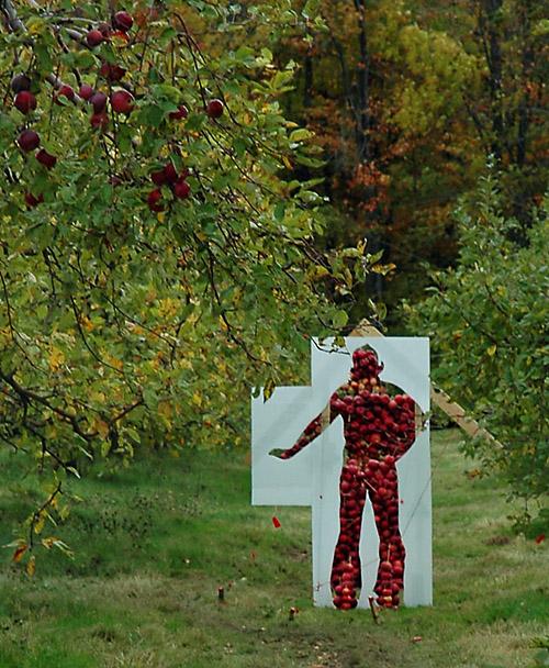 Land Art 2007 - Geneviève Chevalier
