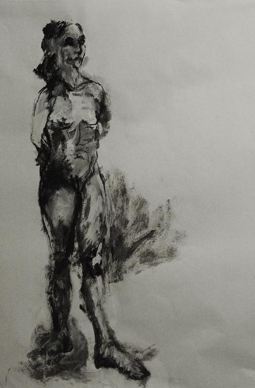 La femme racine - 50 X 35 cm - 2007