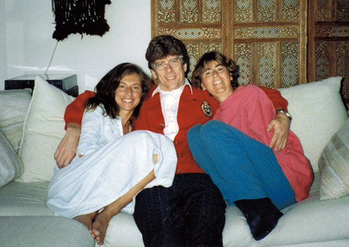Harriet Fels - Gilles - Sharon in their California home