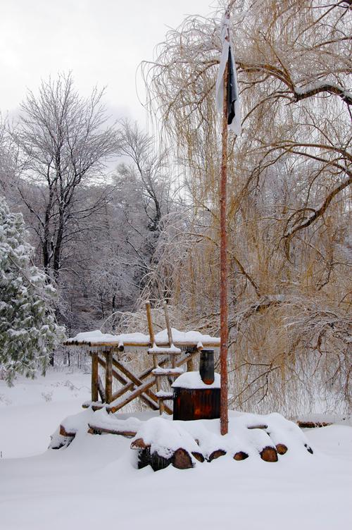 Radeau d'hiver