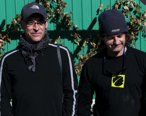 Yves et Daniel (photo André Séguin)